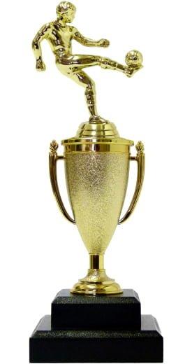 Soccer Kicker Male Trophy 280mm