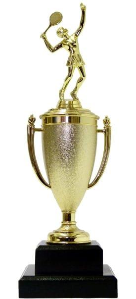 Tennis Female Trophy 340mm