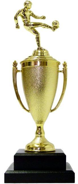 Soccer Kicker Male Trophy 355mm
