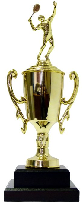 Tennis Male Trophy 380mm