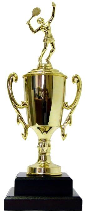 Tennis Female Trophy 380mm