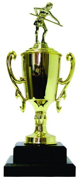 Pool Female Trophy 370mm