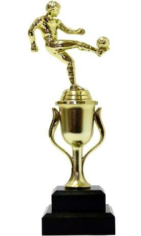 Soccer Kicker Male Trophy 255mm
