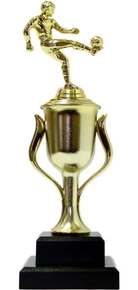 Soccer Kicker Male Trophy 315mm