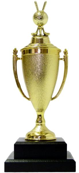 Golf Ball & Clubs Trophy 315mm