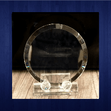 Glass Trophy 150mm (2piece)
