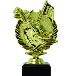 Golf Wreath Trophy 160mm
