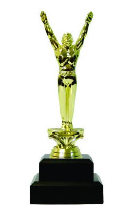 Gymnastics Male Trophy 205mm
