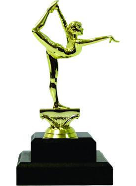 Gymnastics Female Trophy 190mm