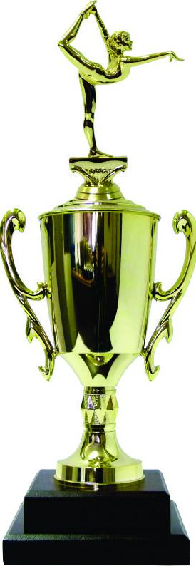 Gymnastics Female Trophy 420mm