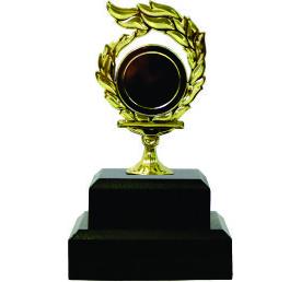 Holder Flame Medal Trophy 130mm