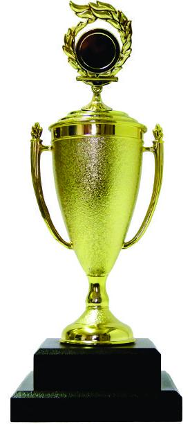 Holder Flame Medal Trophy 320mm