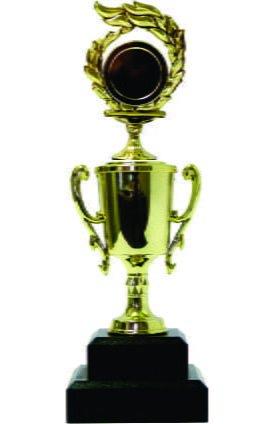 Holder Flame Medal Trophy 220mm