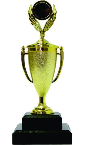 Holder Winged Medal Trophy 230mm