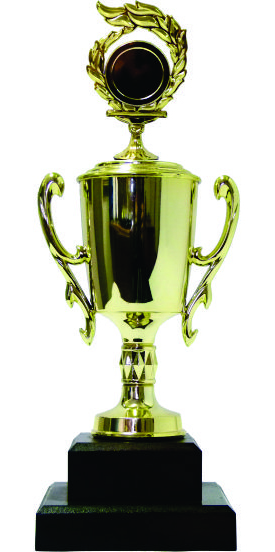 Holder Flame Medal Trophy 280mm