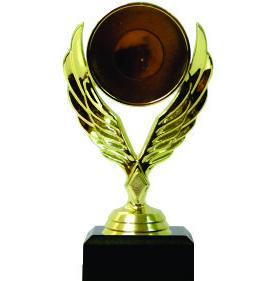 Holder Winged Medal Female Trophy 150mm
