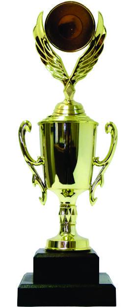 Holder Winged Medal Trophy 237mm