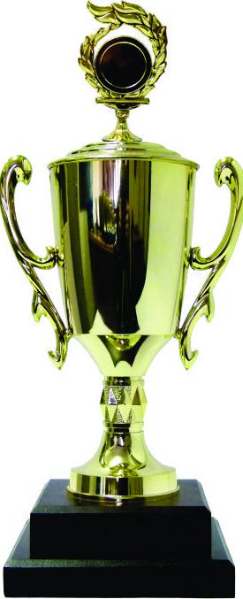 Holder Flame Medal Trophy 360mm
