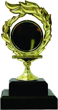 Holder Flame Medal Trophy 190mm