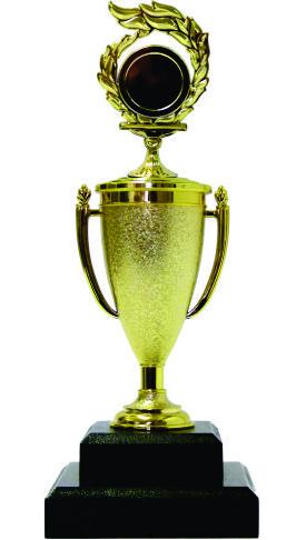 Holder Flame Medal Trophy 240mm