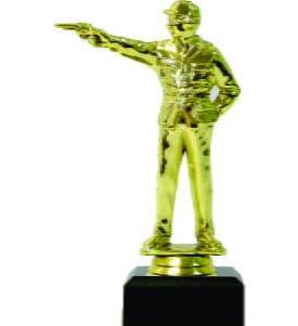 Pistol Shooter Male Trophy 155mm