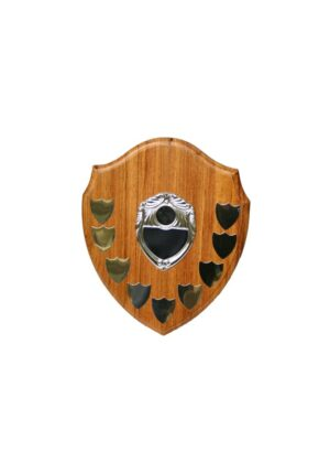 Wooden Shield With Trimming 255mm