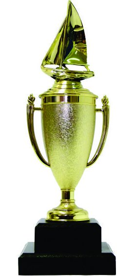 Sailboat Trophy 350mm