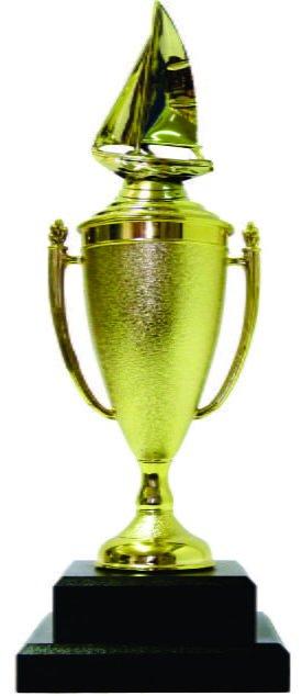 Sailboat Trophy 390mm