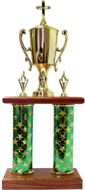 Religion Cross Column Trophy 665mm