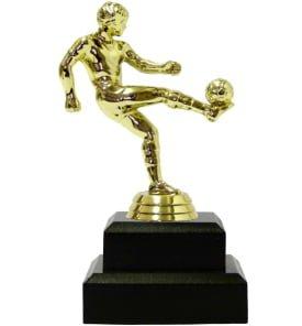 Soccer Kicker Male Trophy 155mm