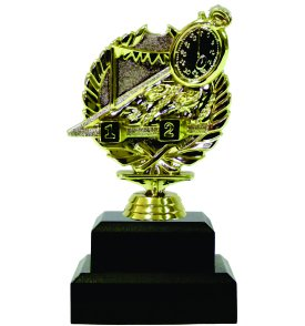 Swimming Wreath Trophy 150mm