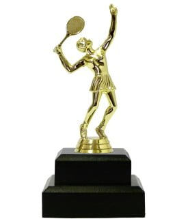 Tennis Female Trophy 180mm