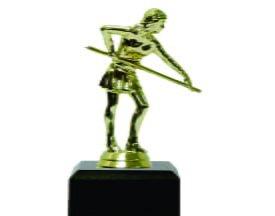 Pool Female Trophy 150mm