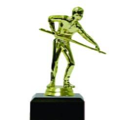 Pool Male Trophy 150mm