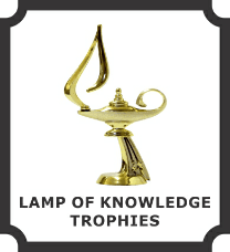 Lamp Of Knowledge Trophies