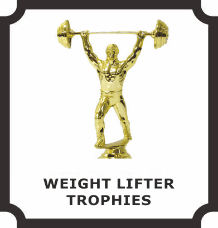Weight Lifting Trophies