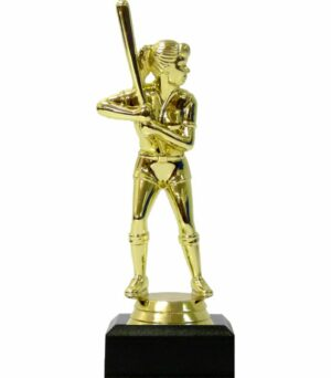 Baseball Female Trophy 135mm