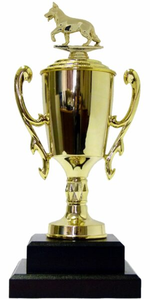 Dog Alsation Trophy 340mm