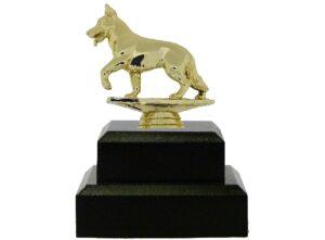Dog Alsation Trophy 150mm