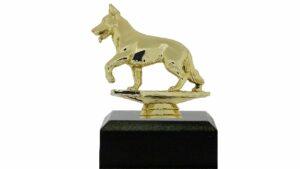 Dog Alsation Trophy 125mm