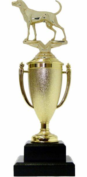 Dog Coon Hound Trophy 300mm