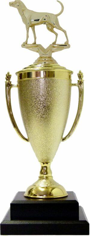 Dog Coon Hound Trophy 380mm