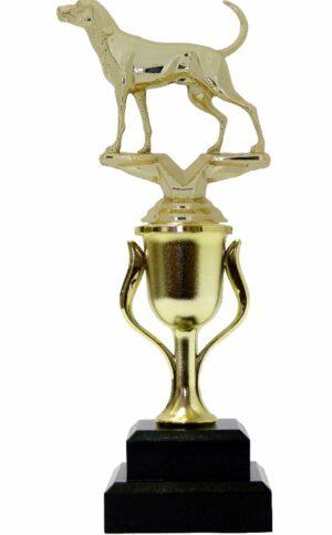 Dog Coon Hound Trophy 240mm