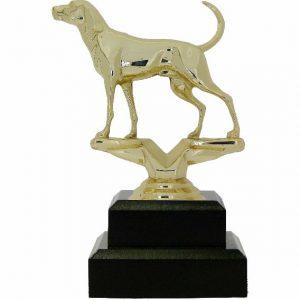 Dog Coon Hound Trophy 150mm