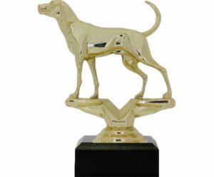 Dog Coon Hound Trophy 125mm