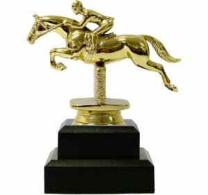 Horse Show Jumping Trophy 135mm