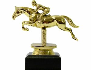 Horse Show Jumping Trophy 115mm