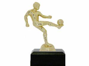 Soccer Kicker Male Trophy 135mm