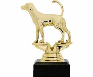 Dog Fox Hound Trophy 125mm