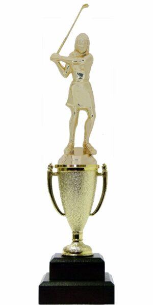 Golf Female Trophy 280mm